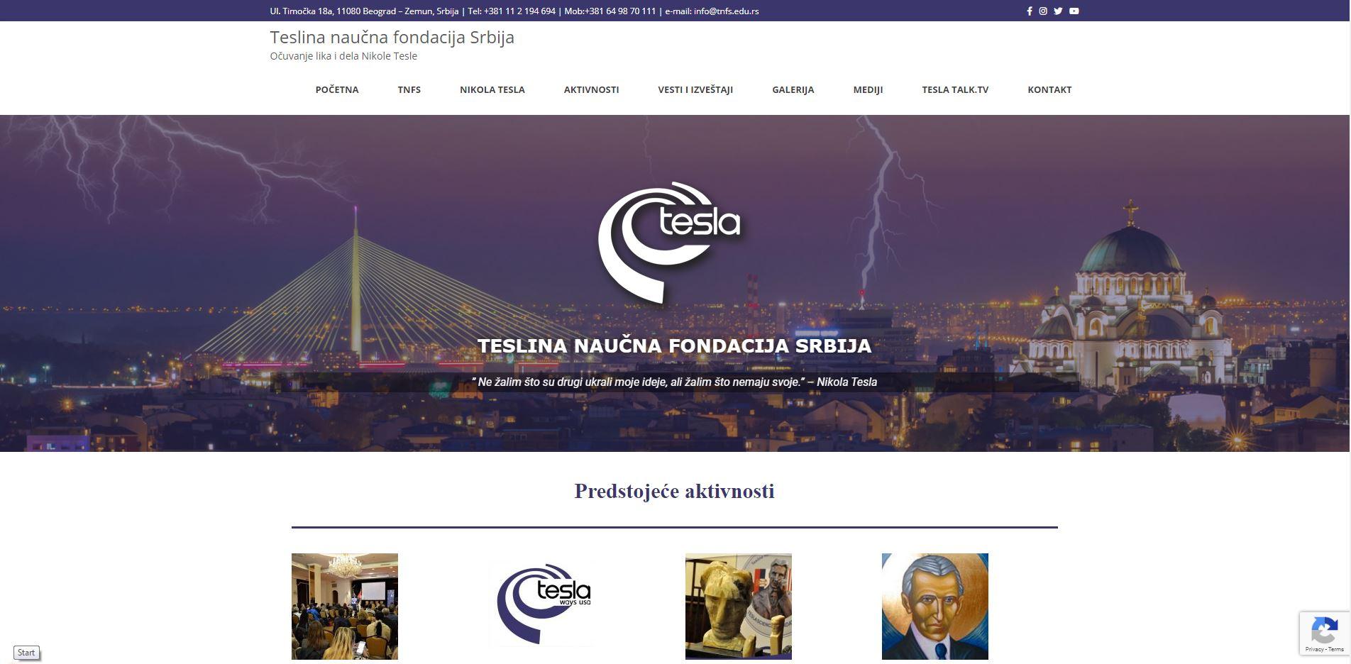 Teslina naučna fondacija Srbije