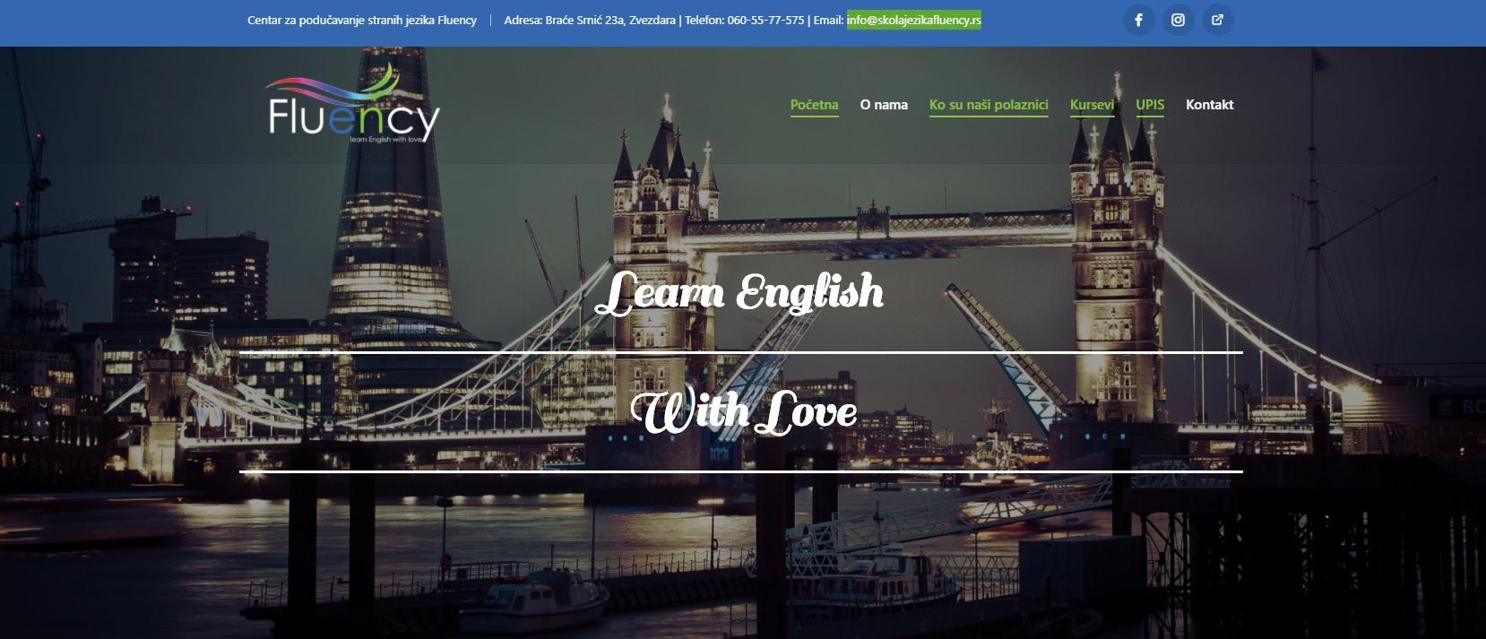 Škola stranih jezika FLUENCY
